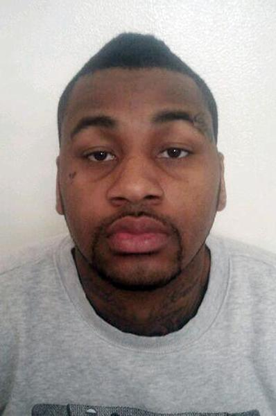 This photo released by the Las Vegas Metropolitan Police Department shows Ammar Harris following his arrest Thursday Feb. 28, 2013 in Los Angeles. Harris, a man wanted for firing gunshots that led to a deadly, fiery crash on the Las Vegas Strip is facing extradition from California to Nevada. (AP Photo/Las Vegas Metropolitan Police Department)
