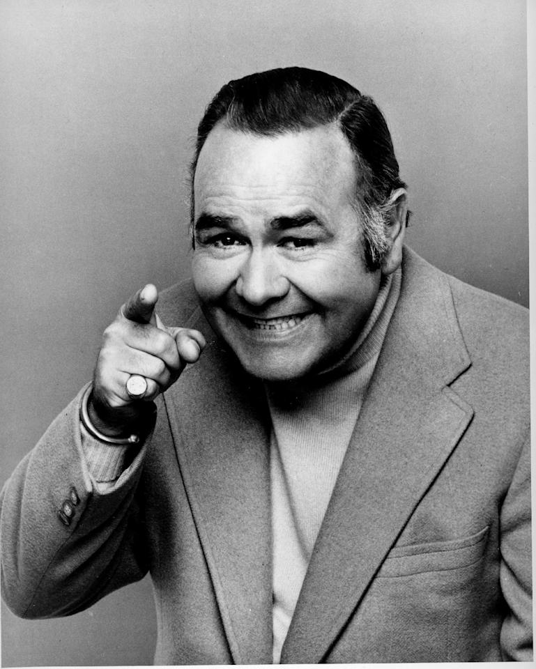 FILE - This undated file image shows comedian and actor Jonathan Winters. Winters, whose breakneck improvisations inspired Robin Williams, Jim Carrey and many others, died Thursday, April 11, 2013, at his Montecito, Calif., home of natural causes. He was 87. (AP Photo, file)