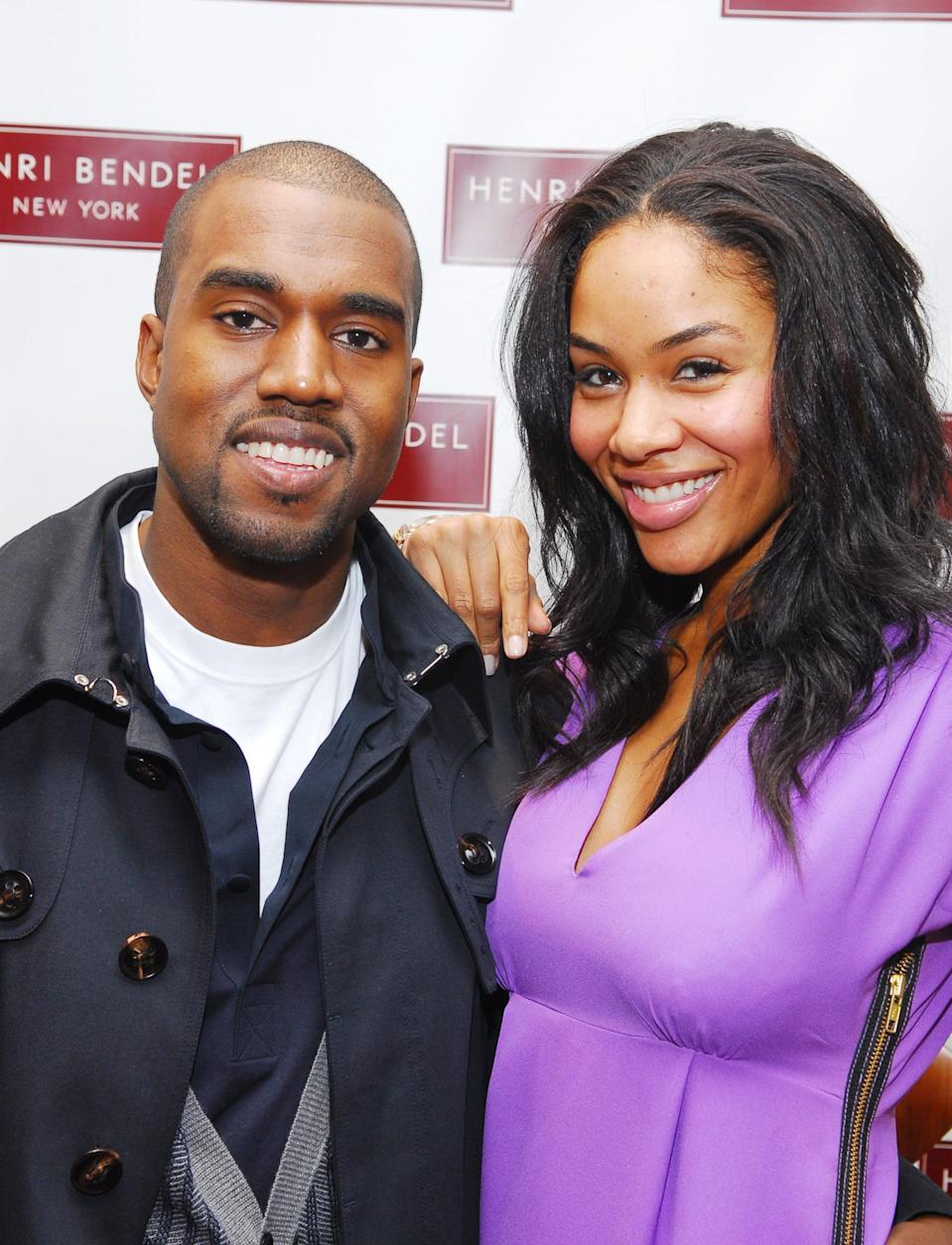 """<p>Between 2002 and 2008, Kanye and fashion designer Alexis Phifer dated on and off. They met two years before the hype of <strong>College Dropout</strong> catapulted him to breakthrough success but broke up in 2004. By 2005 they'd reunited, and Kanye popped the question in 2006. Their relationship started to fall apart after Kanye's mother, Donda, unexpectedly died following complications from a botched plastic surgery procedure, and ended for good in 2008. </p> <p>""""It's always sad when things like this end, and we remain friends,"""" Alexis <a href=""""http://people.com/celebrity/kanye-wests-fiance-sad-over-breakup/?xid=Popsugar"""" class=""""link rapid-noclick-resp"""" rel=""""nofollow noopener"""" target=""""_blank"""" data-ylk=""""slk:told People"""">told <strong>People</strong></a> after they called off their engagement. """"I wish him the best in his future and all of his endeavors. He's one of the most talented people I've ever met."""" Their breakup is said to have inspired many of the songs on his <strong>808s &amp; Heartbreaks</strong> album.</p>"""