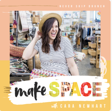 """<p>Ladies, this one's for you. New on our radar, Make Space with Cara Newhart empowers women to take on the task of creating what the host calls a """"lived-in"""" home. In conversations with various guests, Newhart takes listeners beyond the Pinterest board and into the familiar with approachable tips to a loved space.</p><p><a class=""""link rapid-noclick-resp"""" href=""""https://podcasts.apple.com/us/podcast/make-space-a-home-design-show-with-cara-newhart/id1400547533"""" rel=""""nofollow noopener"""" target=""""_blank"""" data-ylk=""""slk:Listen now."""">Listen now.</a></p>"""
