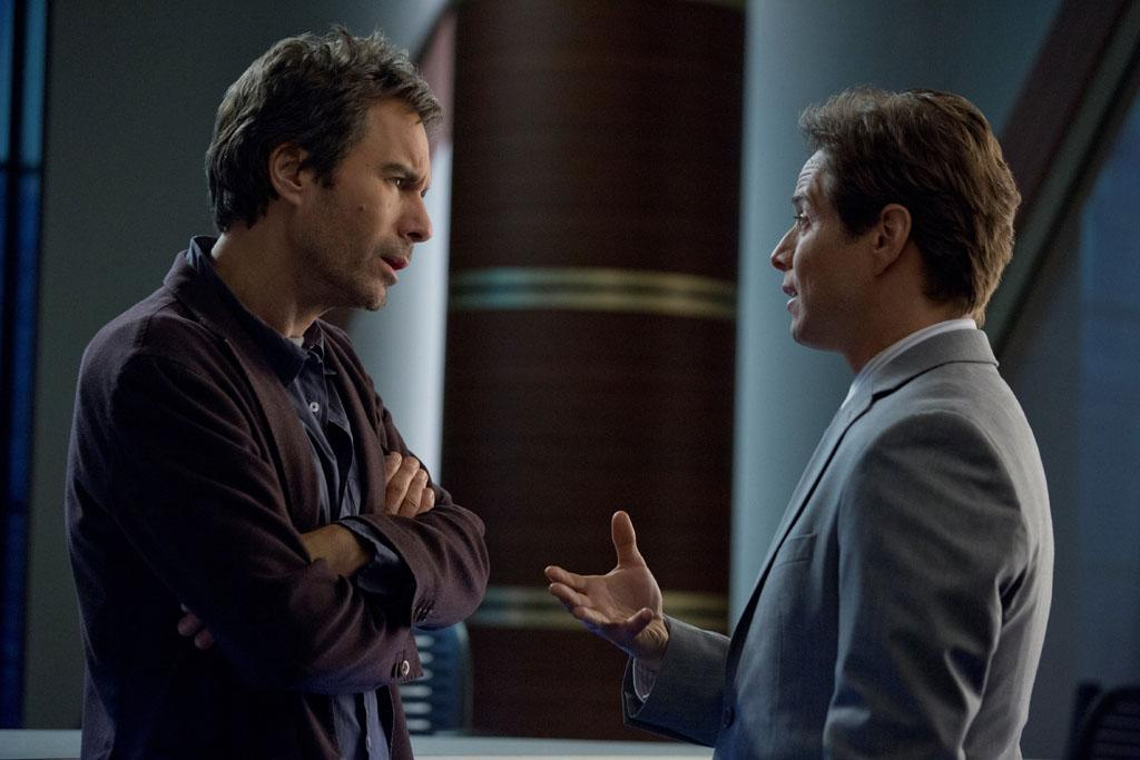 "Eric McCormack and Scott Wolf in the ""Perception"" episode, ""Blindness."""
