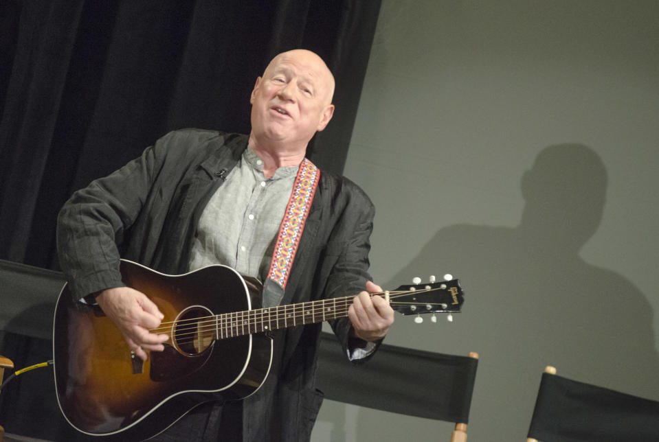 """NEW YORK, NY - FEBRUARY 09: Neil Innes attends """"50 Years: The Beatles"""" panel discussion at Ed Sullivan Theater on February 9, 2014 in New York City. (Photo by Kris Connor/Getty Images)"""