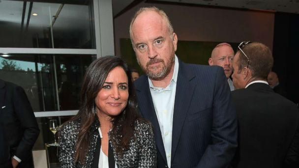 PHOTO: Pamela Adlon and Louis C.K. attend FX Networks celebration of their Emmy nominees in partnership with Vanity Fair at Craft, Sept. 16, 2017, in Century City, California. (Charley Gallay/Getty Images)