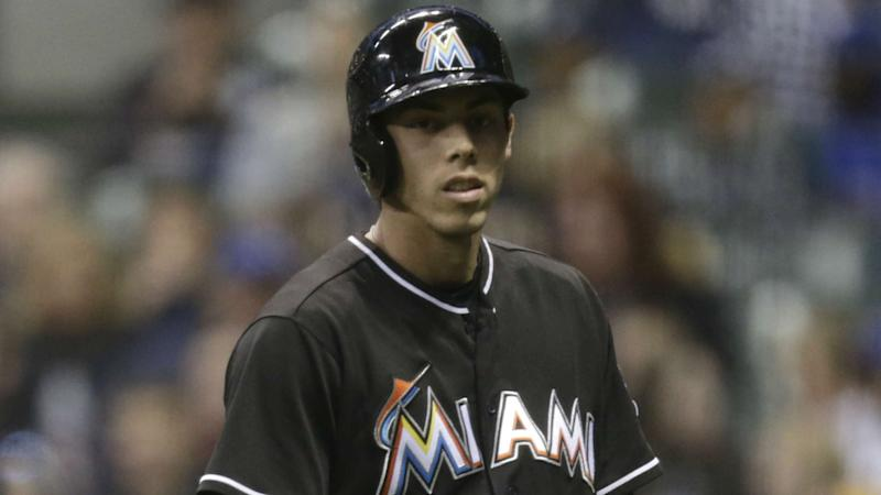 Christian Yelich: Marlins trade OF for Brewers' top prospects