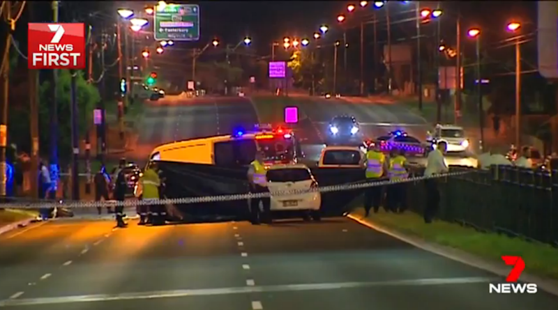 The 23-year-old was killed when he crashed into a van on his motorbike. Source: 7 News
