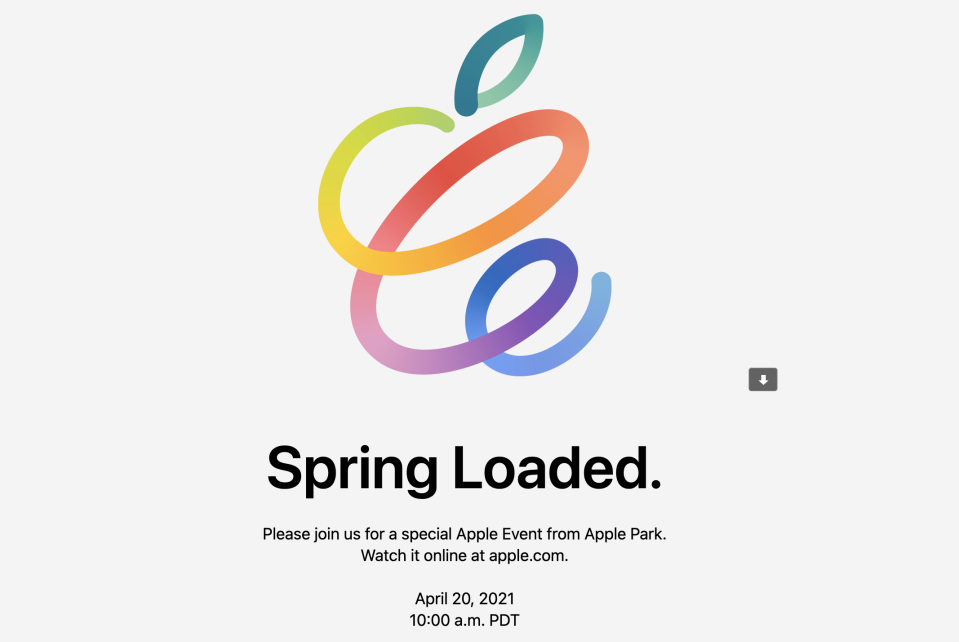 Apple April 20 event