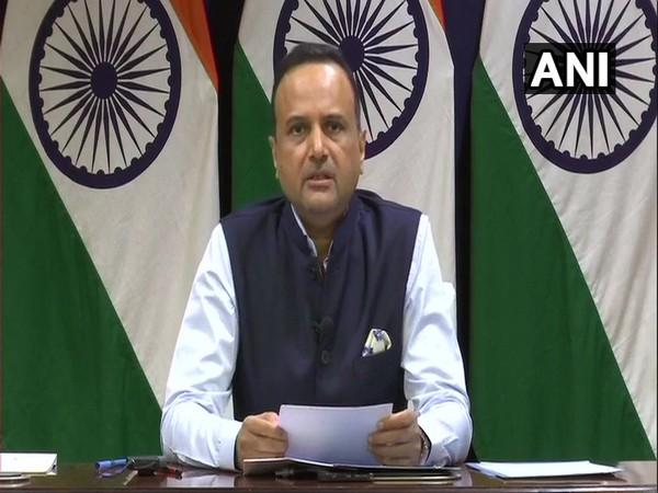 MEA Spokesperson Anurag Srivastava speaking to the Media on Thursday