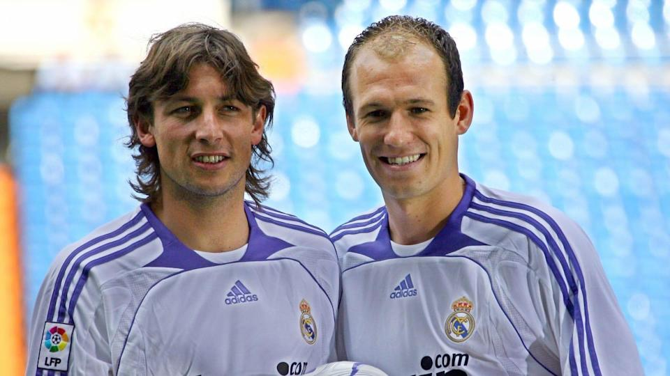 New Real Madrid football players Arjen R | JAVIER SORIANO/Getty Images