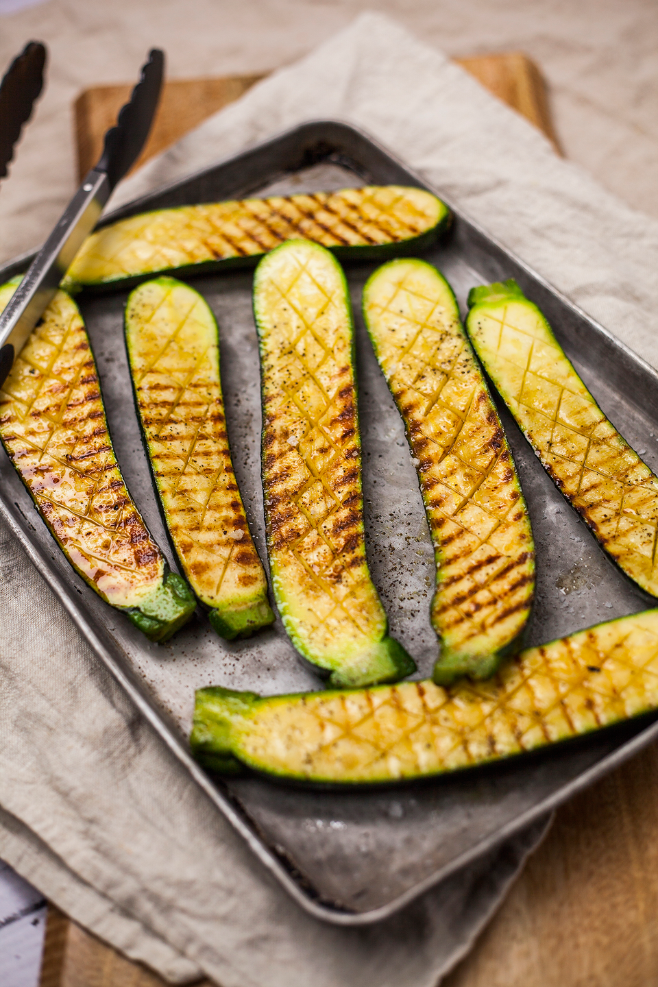 """<p>Vegetables always tasty delicious cooked on the barbecue, so follow this easy courgette recipe for a healthy delight.</p><p><strong>Recipe: <a href=""""https://www.goodhousekeeping.com/uk/food/recipes/a538234/bbq-courgettes/"""" rel=""""nofollow noopener"""" target=""""_blank"""" data-ylk=""""slk:Barbecued courgettes"""" class=""""link rapid-noclick-resp"""">Barbecued courgettes</a></strong></p>"""