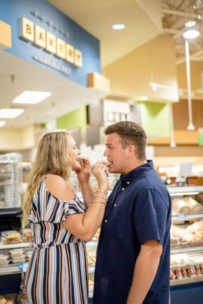PHOTO: Alexandra and Dylan plan to have Publix's bakery department cater their wedding cake. (Jennifer Goodlet Photography )