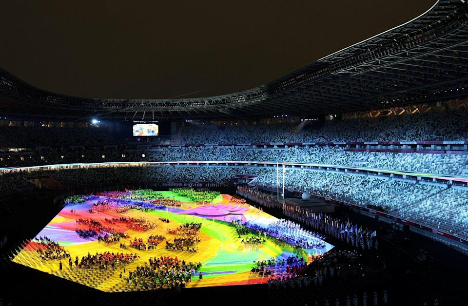 The Tokyo 2020 Paralympic Games Opening Ceremony. - REUTERS