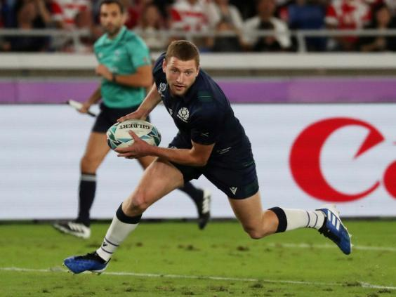 Finn Russell will not be returning to the Scotland squad anytime soon (Reuters)