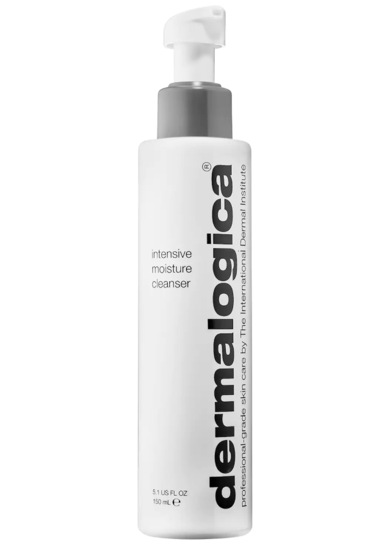 My favourite way to remove makeup at the end of the day. Dermalogica's Intensive Moisture Cleanser is a gentle way to keep your skin looking fresh and healthy. Image via Sephora.