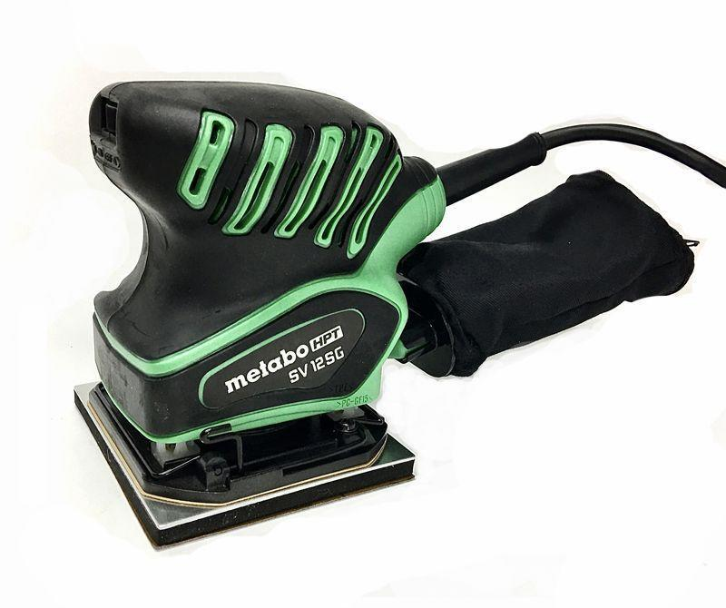 """<p><strong>Metabo HPT</strong></p><p>amazon.com</p><p><strong>$51.97</strong></p><p><a href=""""https://www.amazon.com/dp/B07MYYVDHX?tag=syn-yahoo-20&ascsubtag=%5Bartid%7C10060.g.26626730%5Bsrc%7Cyahoo-us"""" rel=""""nofollow noopener"""" target=""""_blank"""" data-ylk=""""slk:Buy Now"""" class=""""link rapid-noclick-resp"""">Buy Now</a></p><p><strong>Weight: </strong>2.5 lb. </p><p>Metabo's tool was the only quarter-sheet (non-oscillating) orbital sander in the test. It's a good power tool that transmits a minimum of vibration to the user as it goes about its work, somewhat slowly producing a reliably smooth surface without swirl marks. Its dust collection is quite good (if not as good as other corded models), but its dust port is not easily adaptable to a vacuum. On the other hand, it does have a major advantage compared to other sanders in that you've got multiple options for its abrasive sheets. You can use the peel-and-stick kind, buy the pre-cut 5.5 x 4.5-inch sheets designed for such machines, or buy a roll of 4.5-inch-wide abrasive paper from which you cut pieces to fit the sander.</p>"""