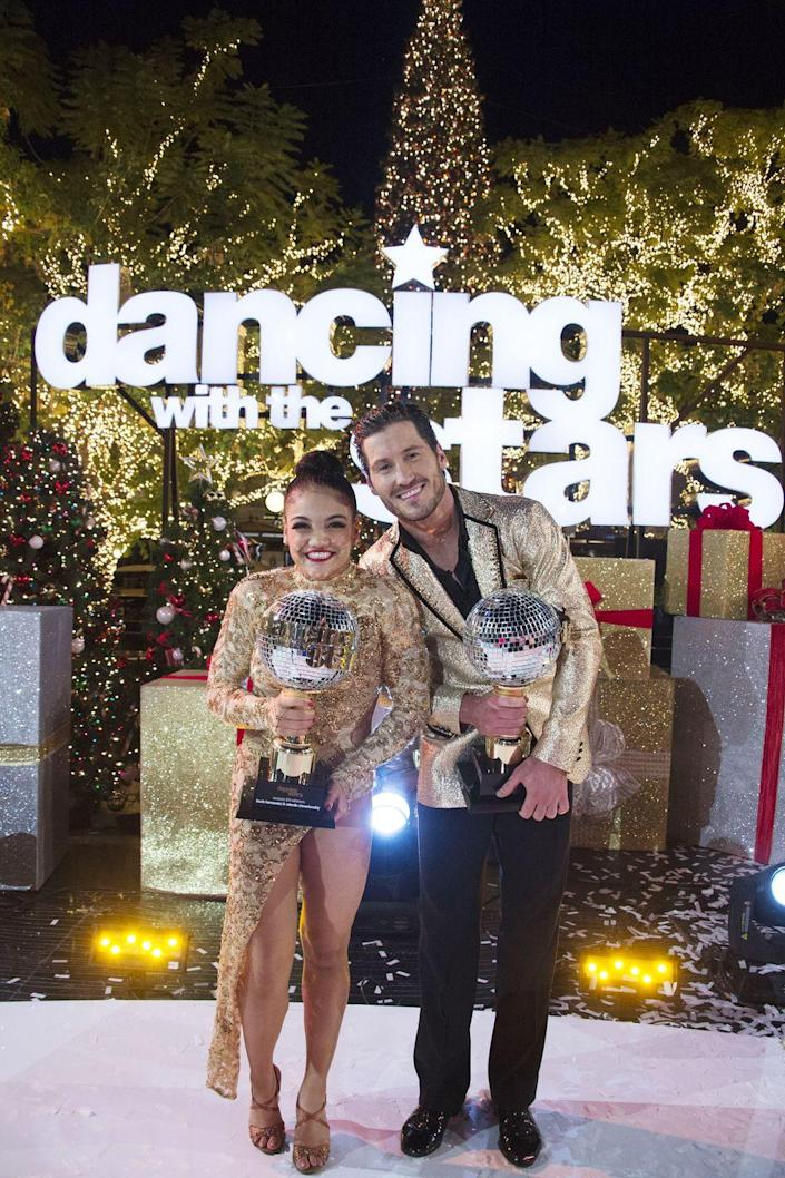 <p><strong>Season:</strong> 23</p><p><strong>Runners-up:</strong> James Hinchcliffe & Sharna Burgess</p><p><strong>About Laurie: </strong>She competed in the U.S. women's gymnastics team's Final Five in 2016 and took home a gold medal, baby.</p>