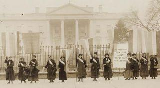 National Woman's Party protestors of yore.