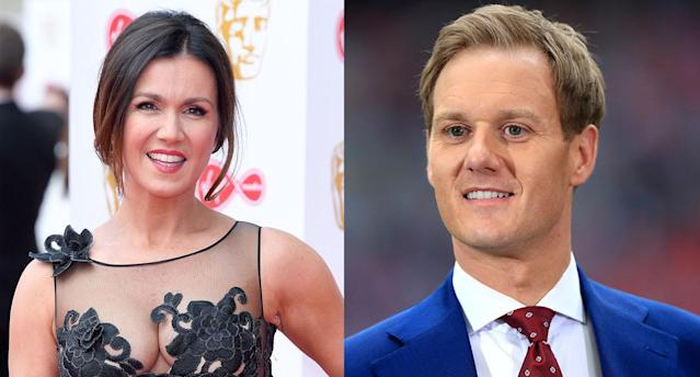 "Dan Walker apologised to Susanna Reid for ""misreading"" her comments. (Getty)"