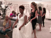 """<p>Sorry, dresses aren't free or even discounted. If you find the one, you better be ready to drop some serious cash, because the <a href=""""https://www.buzzfeed.com/terripous/21-things-you-never-knew-about-say-yes-to-the-dress"""" rel=""""nofollow noopener"""" target=""""_blank"""" data-ylk=""""slk:average cost of a dress at Kleinfeld is $4,500"""" class=""""link rapid-noclick-resp"""">average cost of a dress at Kleinfeld is $4,500</a>. </p>"""