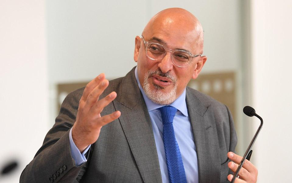 Nadhim Zahawi's appointment as Education Secretary was met with cautious optimism among senior union figures - Stefan Rousseau/PA Wire