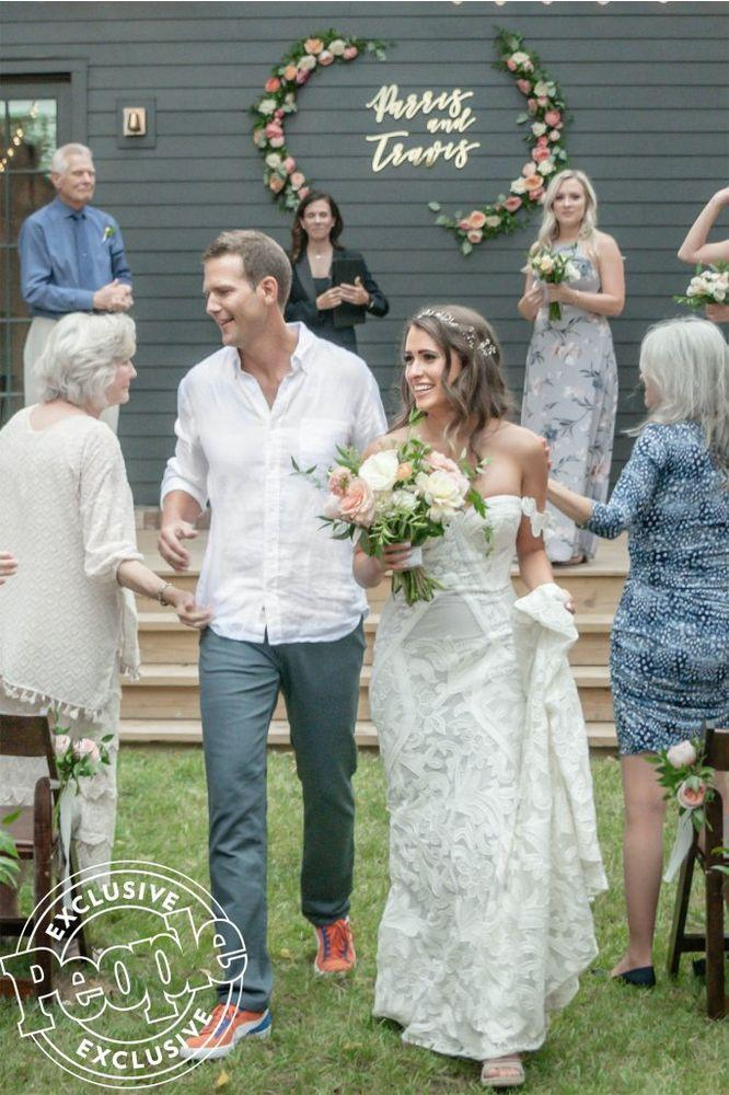 Travis Stork and wife Parris' wedding day | Gina Petersen Photography