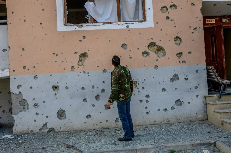 The fighting in Nagorno-Karabakh has left hundreds of people dead