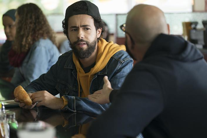 Ramy Youssef, nominee for actor in a comedy series for Hulu's 'Ramy.'