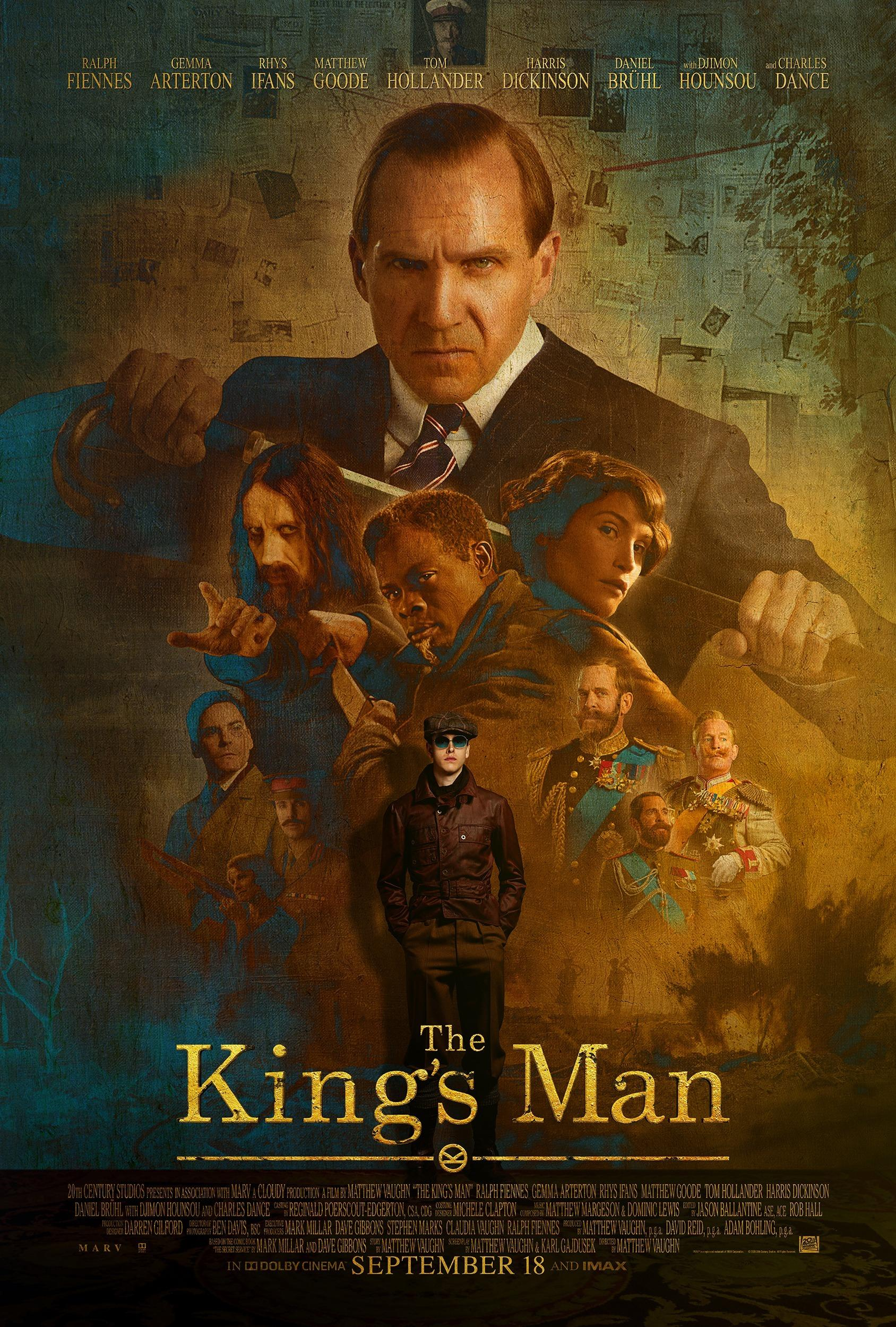 A new poster for The King's Man. (20th Century Studios)