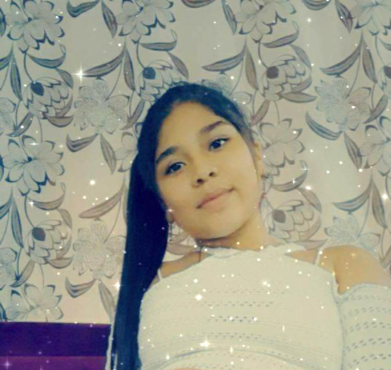 Maria Paula Castaneda Callejas is pictured. She was shot dead while celebrating her 15th birthday.