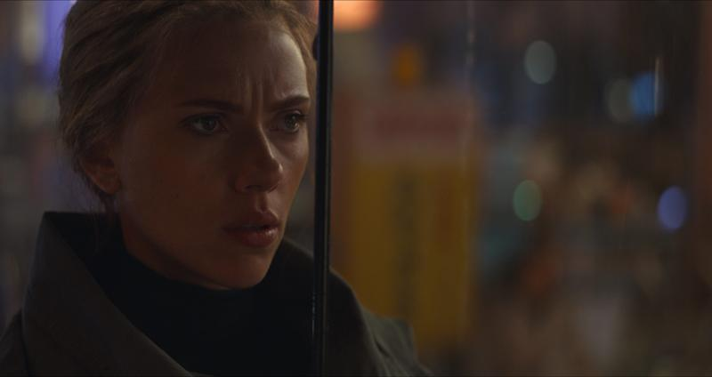 Black Widow (Scarlett Johansson) suffered a tragic fate in