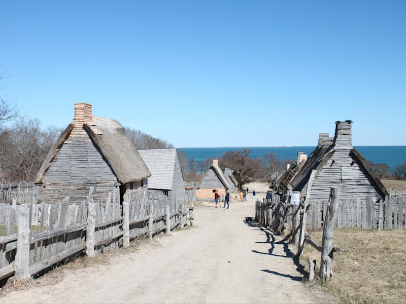 English Village at Plimoth Plantation (Lynn Houghton)