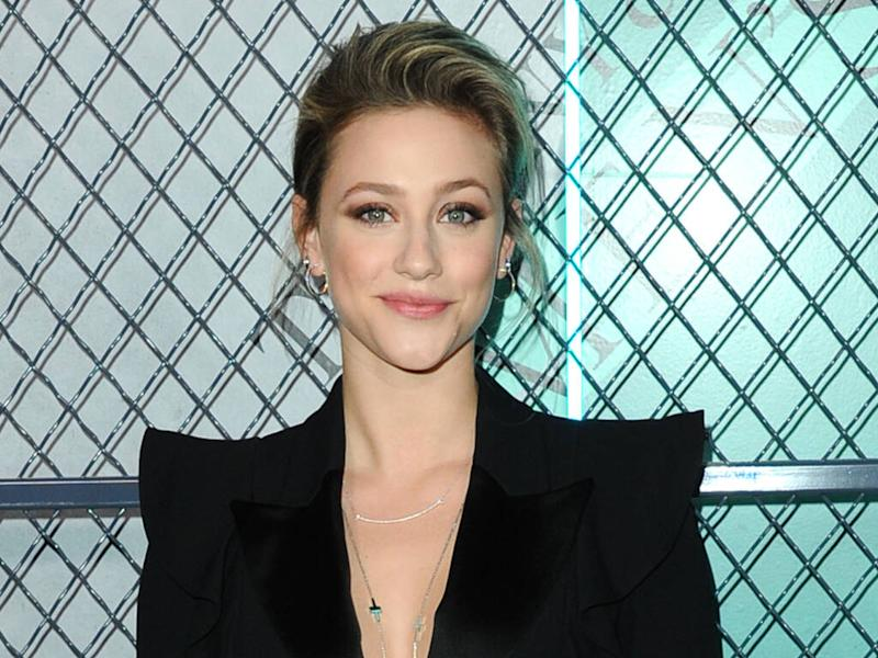 Lili Reinhart hitting the gym 'to feel strong'