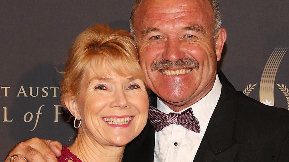 Details of the reasons why Wally lewis' 36-year marriage to wife Jackie have been revealed. (Photo by Scott Barbour/Getty Images)