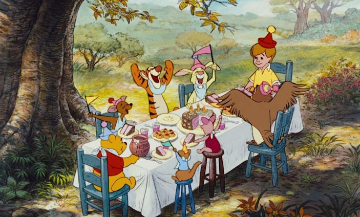 <p>The willy-nilly, silly old bear first began appearing in featurettes in the '60s, but it wasn't until 1977 that Disney finally gave Pooh his own movie. The anthology film combined three previously released shorts with new material. </p>
