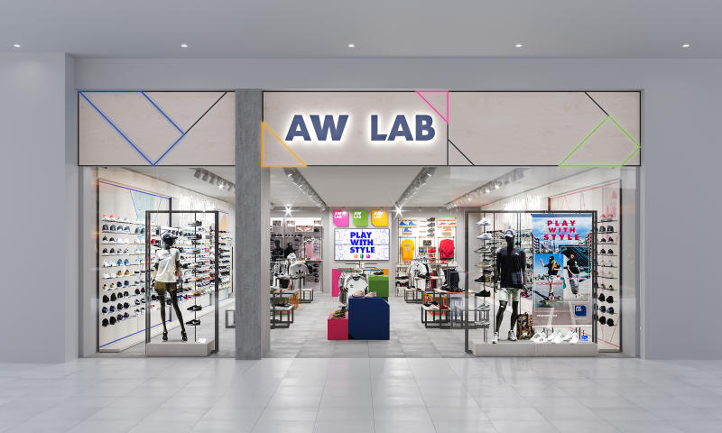 0a7d4143e7 Bata's sport-style retailer AW LAB opens first store in Asia