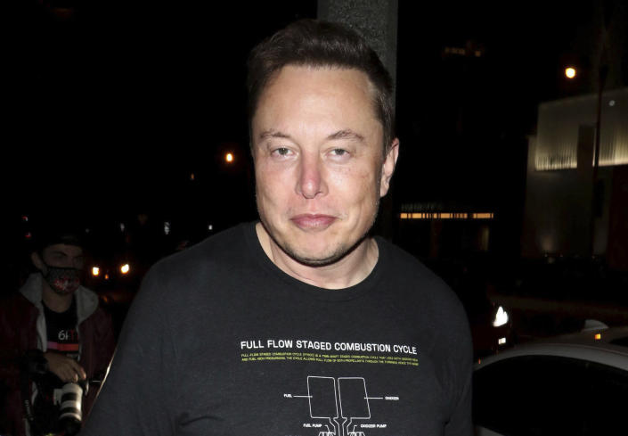 JUNE 14th 2021: CEO Elon Musk announces that Tesla may resume accepting Bitcoin cryptocurrency as a customer payment method for Tesla vehicles, products and services. - File Photo by: zz/Wil R/STAR MAX/IPx 2020 9/25/20 Elon Musk is seen on September 25, 2020 in Los Angeles, California.