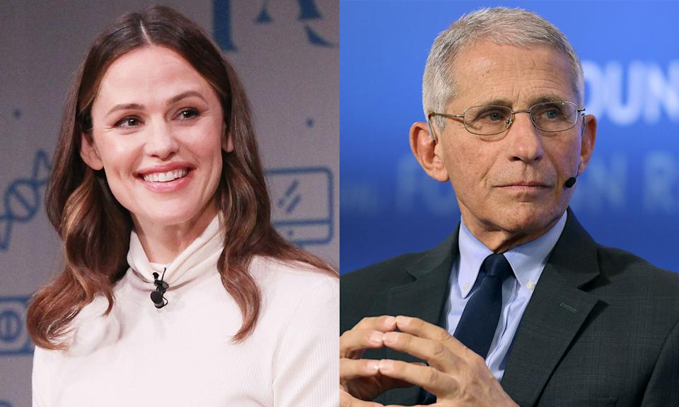Jennifer Garner spoke with Dr. Anthony Fauci to talk children and COVID-19. (Photo: Getty Images)