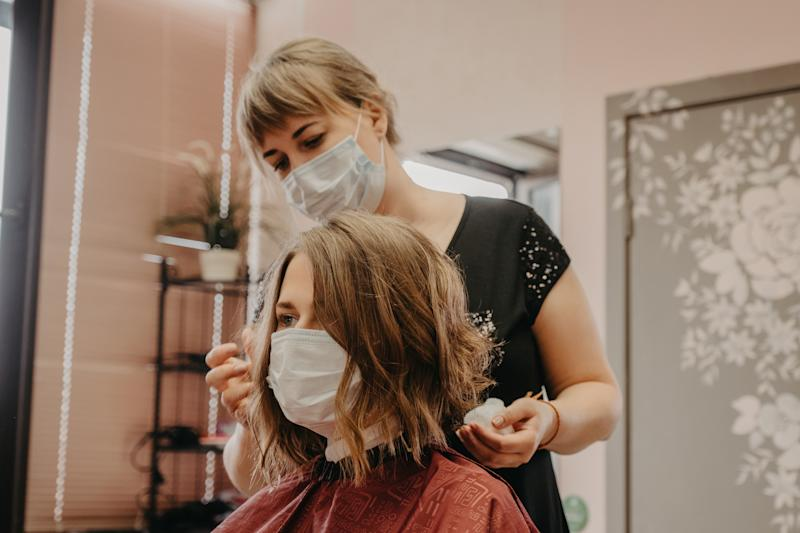 Oh hairdressers how we've missed you! (Getty Images)