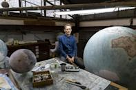 Peter Bellerby (pictured) set up his globemaking company after he ended up making a handmade globe himself when he couldn't find a high quality one as a gift for his father
