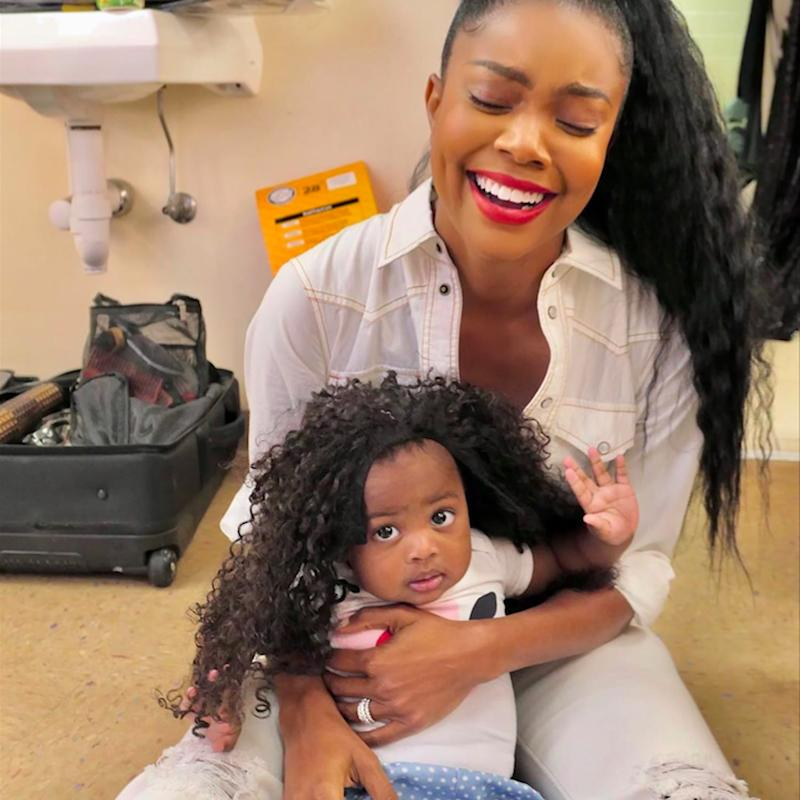 Baby Kaavia Rocked Gabrielle Union's Wig, and Now It's the Cutest Photo on the Internet
