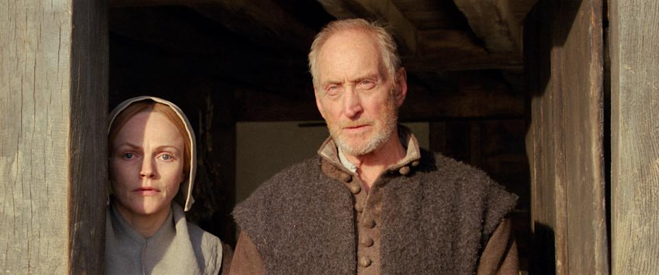 Maxine Peake and Charles Dance in Fanny Lye Deliver'd. (Vertigo Releasing)