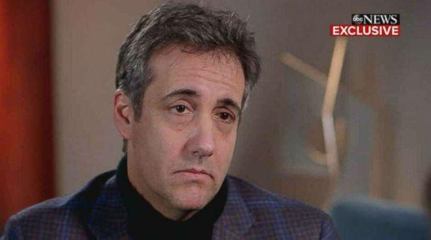 PHOTO: Michael Cohen sits down for an interview with ABC News Chief Anchor George Stephanopoulos on 'Good Morning America,' Friday, Dec. 14, 2018. (ABC News)