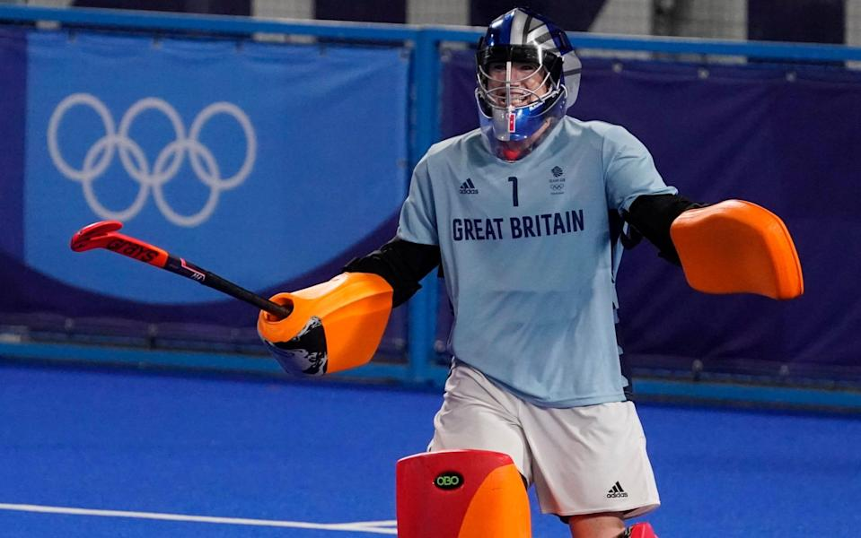 Maddie Hinch has called the bronze medal a 'massive prize' - AP