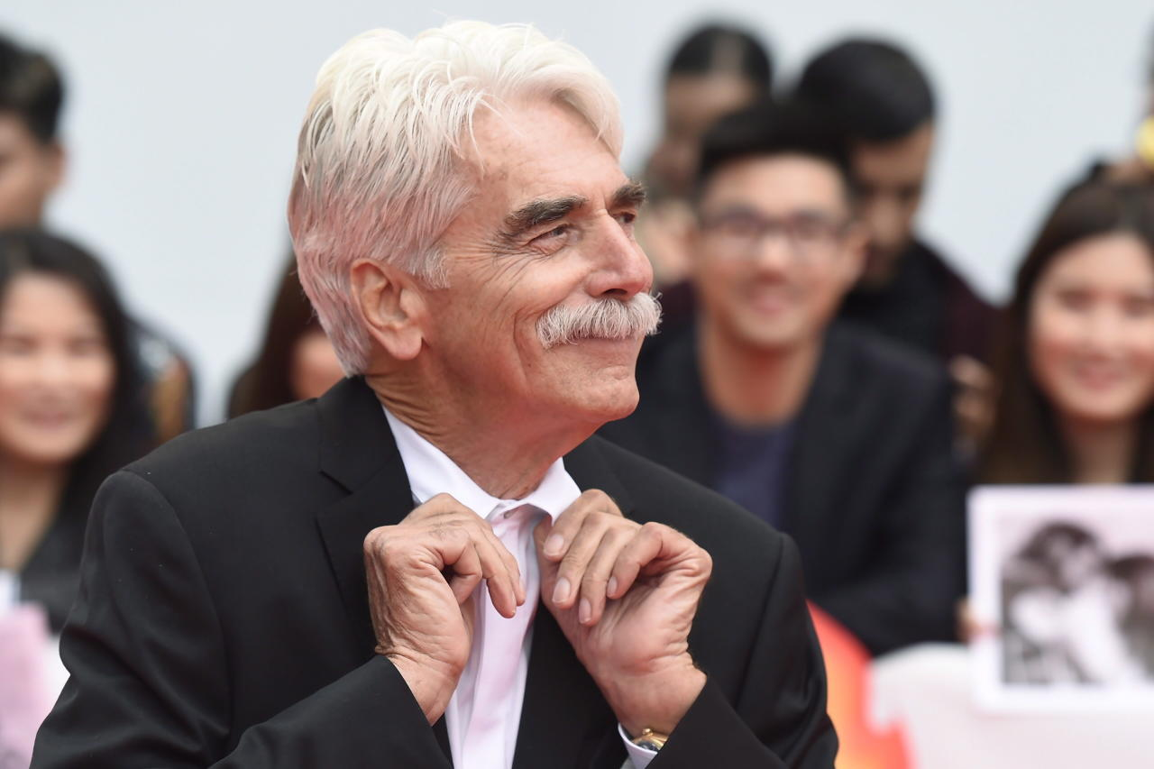 "<p>Actor Sam Elliott poses for photographs on the red carpet for the film ""A Star is Born"" during the 2018 Toronto International Film Festival in Toronto on Sunday, September 9, 2018. THE CANADIAN PRESS/Nathan Denette </p>"