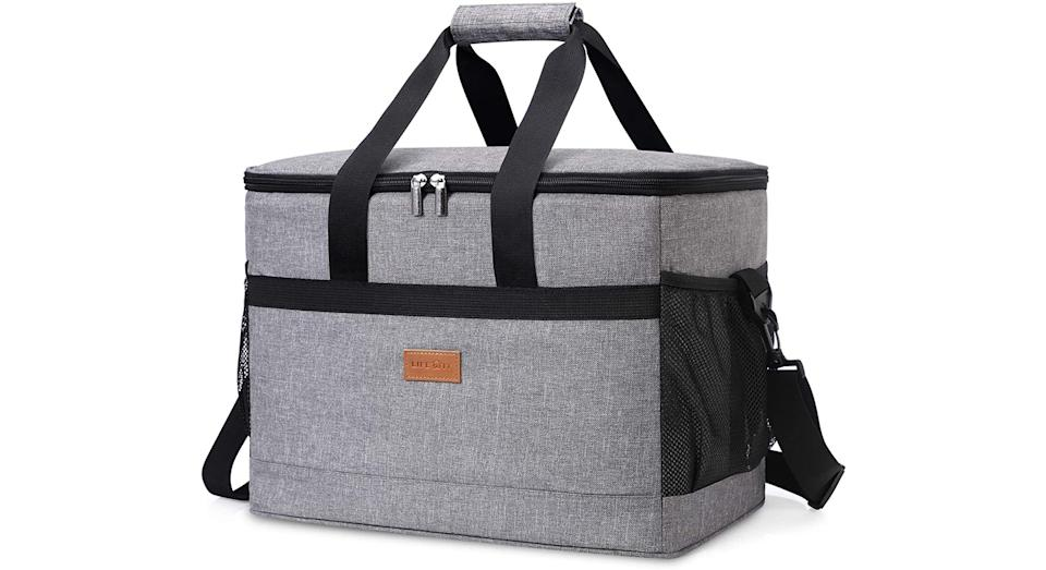 Lifewit 30L (50-Can) Soft Cooler Bag with Hard Liner