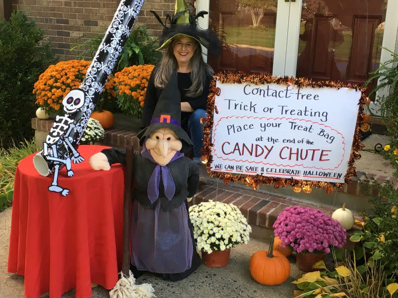 Halloween trick-or-treating amid COVID-19