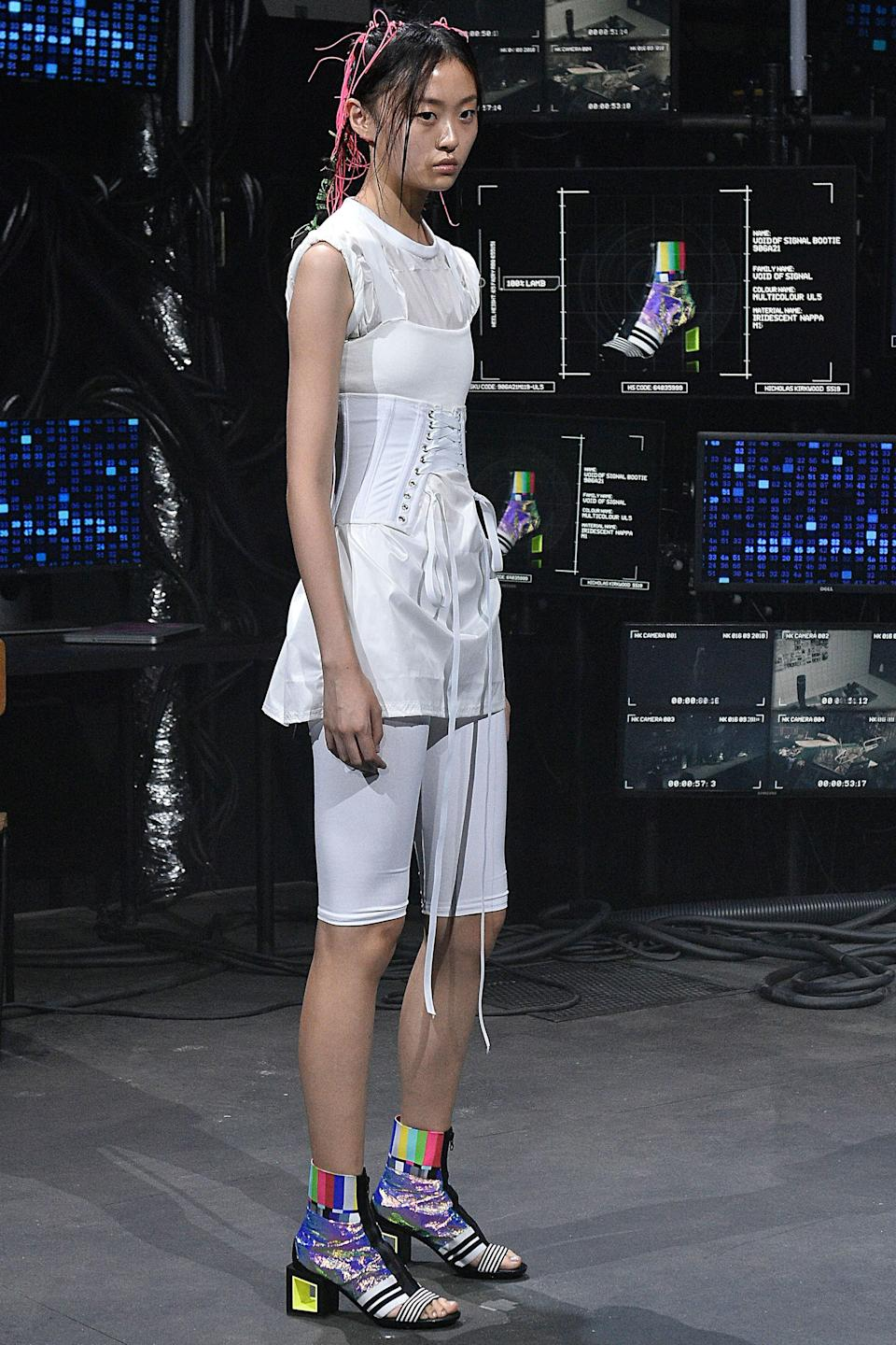 CyFi, a teen hacker who began her career at 10 years old, takes London Fashion Week.