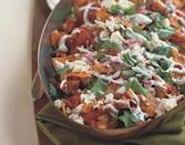"""If you're ready to start eating leftovers as soon as you wake up the day after Thanksgiving, the move is this chilaquiles recipe, topped with fresh cilantro and drizzled with crema or sour cream. <a href=""""https://www.epicurious.com/recipes/food/views/turkey-chilaquiles-236486?mbid=synd_yahoo_rss"""" rel=""""nofollow noopener"""" target=""""_blank"""" data-ylk=""""slk:See recipe."""" class=""""link rapid-noclick-resp"""">See recipe.</a>"""