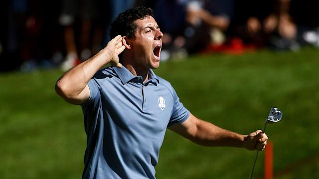Rory McIlroy at the 2016 Ryder Cup.