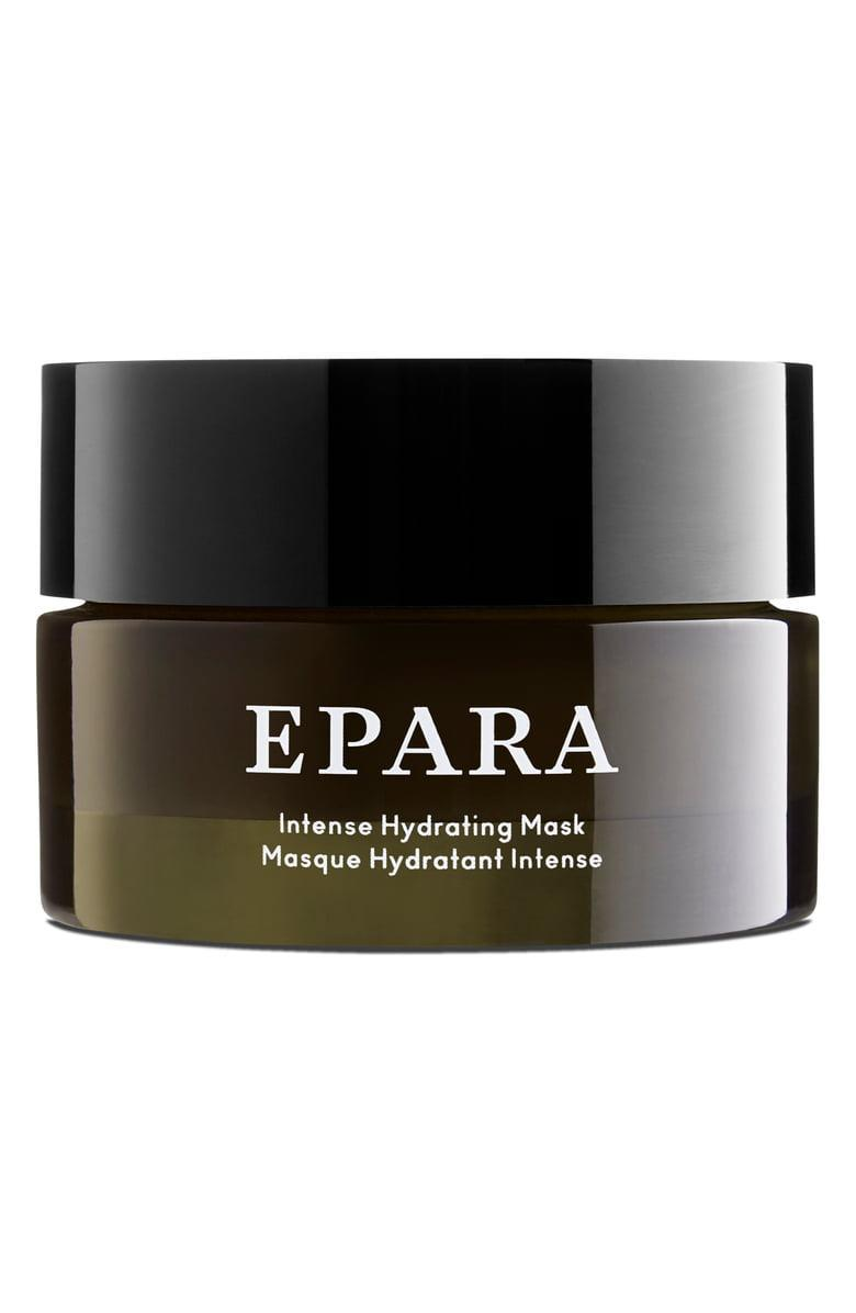 """<h2>Epara </h2><br>Epara, which translates to """"to cocoon oneself"""" in the Nigerian dialect of Ebira was handcrafted in Britain to offer luxurious skincare in a department where women of color have been left out. Luckily, thanks to this brand, we have a range of comforting — and effective — products including moisturizers, masks, and body butters to cocoon ourselves in for days to come. <br><br><strong>EPARA Skincare</strong> Epara Intense Hydrating Mask, $, available at <a href=""""https://go.skimresources.com/?id=30283X879131&url=https%3A%2F%2Fwww.eparaskincare.com%2Fcollections%2Fmasks%2Fproducts%2Fintense-hydrating-mask"""" rel=""""nofollow noopener"""" target=""""_blank"""" data-ylk=""""slk:Epara Skincare"""" class=""""link rapid-noclick-resp"""">Epara Skincare</a>"""