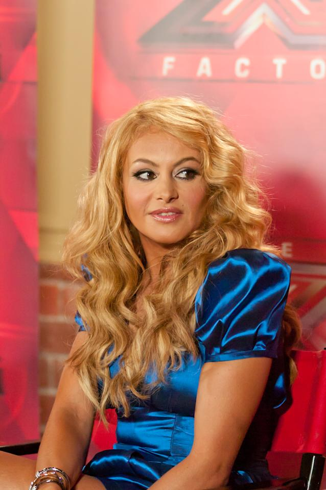 "Paulina Rubio attends the ""The X Factor"" Judges press conference at Nassau Veterans Memorial Coliseum on June 20, 2013 in Uniondale, New York."